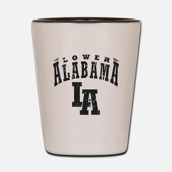 Lower Alabama Shot Glass