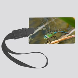 Female emperor dragonfly Large Luggage Tag