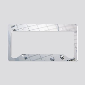 Financial paperwork License Plate Holder