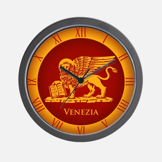 venetian flag Wall Clock