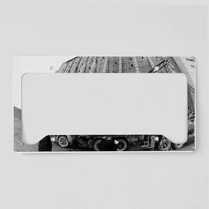 Fisheye lens view of Chernoby License Plate Holder