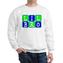 Lil Bro (Blue/Green Bright) Sweatshirt