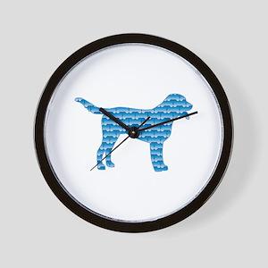 Bone Swissie Wall Clock