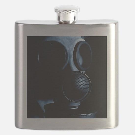 Gas mask Flask