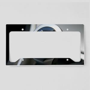 Gearstick License Plate Holder