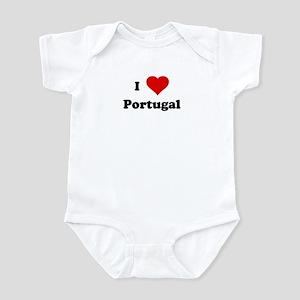 I Love Portugal Infant Bodysuit