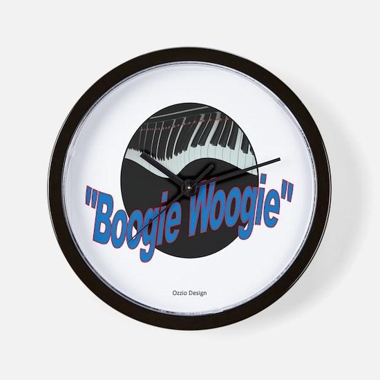 Boogie Woogie Wall Clock