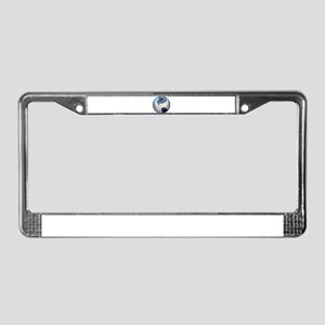 Globe License Plate Frame