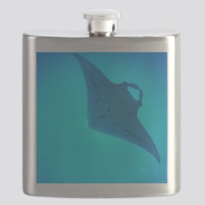 Giant manta ray Flask