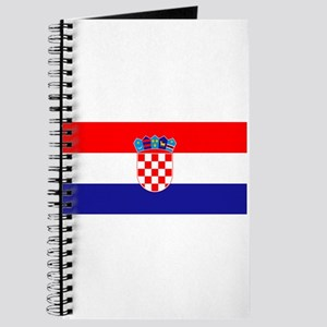 Croatia flag Journal