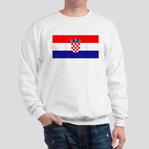 Croatia flag Sweatshirt