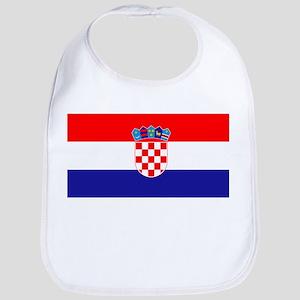 Croatia flag Bib