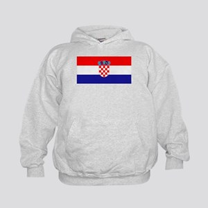 Croatia flag Kids Hoodie