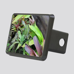 Bromeliad Bunch Rectangular Hitch Cover