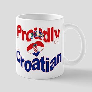 Proudly Croatian Mug