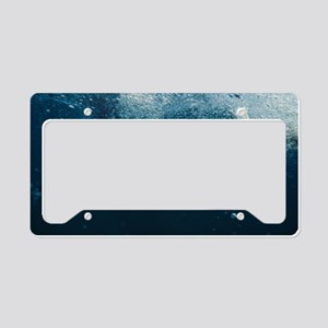 Great white shark License Plate Holder