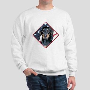 Black & Tan Flag 2 Sweatshirt