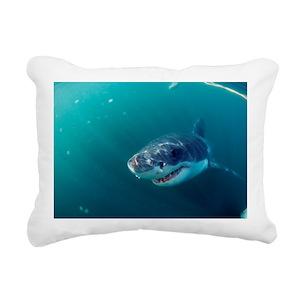 68dc92adf715 Shark Pillows - CafePress