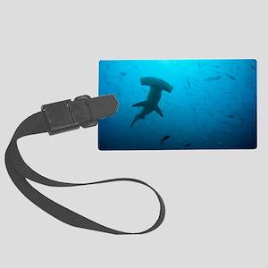 Hammerhead shark Large Luggage Tag