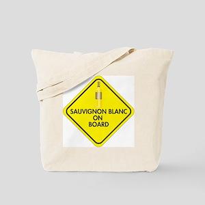 Sauvignon Blanc on Board Tote Bag