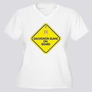 Sauvignon Blanc o Women's Plus Size V-Neck T-Shirt