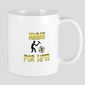 Mining with Bitcoin Mugs