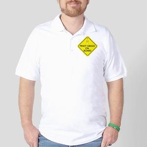 Pinot Grigio on Board Golf Shirt
