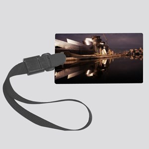 Guggenheim Museum Large Luggage Tag