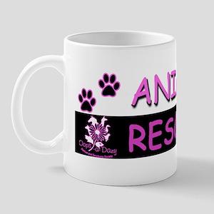ANIMAL RESCUER (Purple) Mug