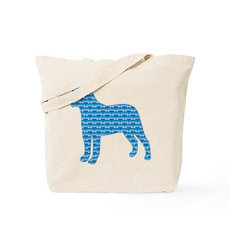 Bone Bullmastiff Tote Bag