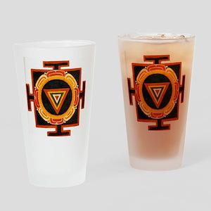 Kali Yantra Drinking Glass