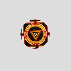 Kali Yantra Mini Button