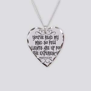 mind Necklace Heart Charm