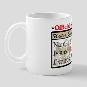 Official Gun Permit Mug