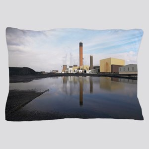 Drax coal-fired power station, UK Pillow Case