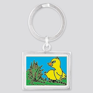 Ducky Landscape Keychain