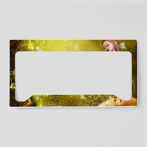ft_Rectangular Canvas Pillow License Plate Holder