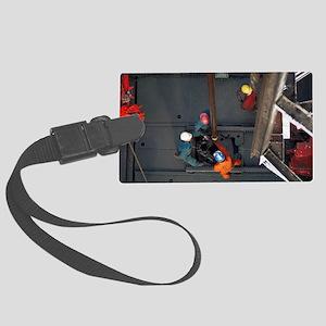 Drillship Large Luggage Tag