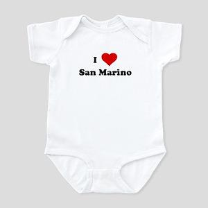 I Love San Marino Infant Bodysuit
