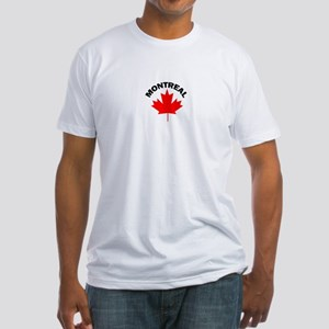 Montreal, Quebec Fitted T-Shirt