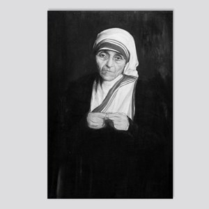 Mother Teresa (black and  Postcards (Package of 8)