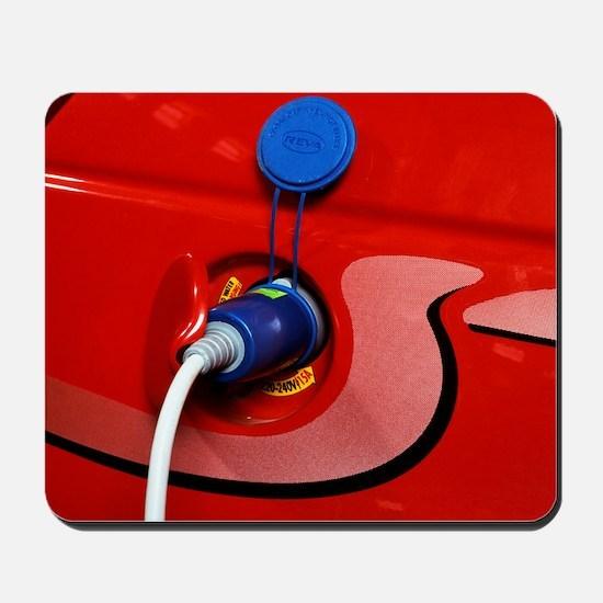 Electric car Mousepad