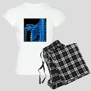 Shoulder bones, artwork Women's Light Pajamas
