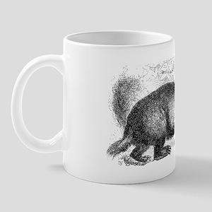 Le Blaireau Mug