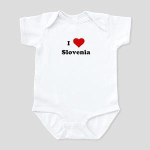 I Love Slovenia Infant Bodysuit