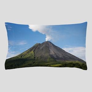 Arenal Volcano In Costa Rica Pillow Case