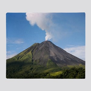 Arenal Volcano In Costa Rica Throw Blanket