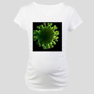 Virus, conceptual image Maternity T-Shirt