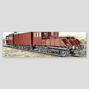 Early electric train Sticker (Bumper)