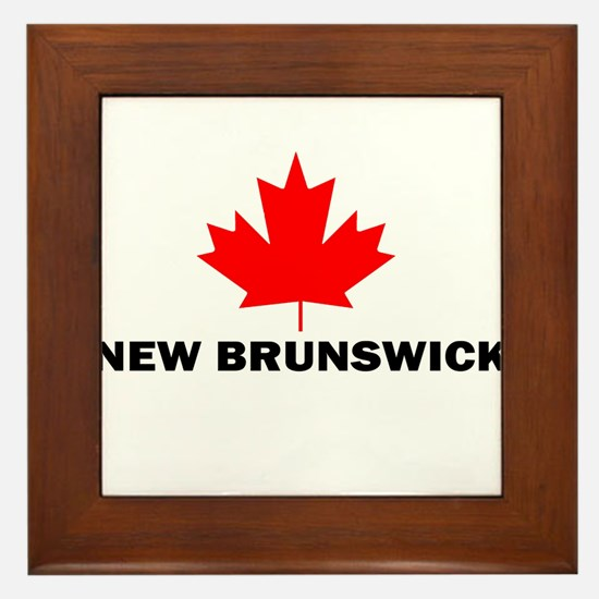 New Brunswick Framed Tile